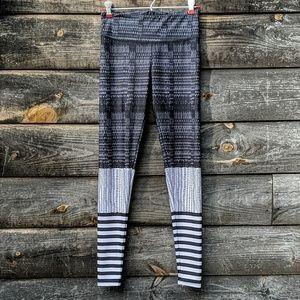 Onzie Multi Pattern Black and White Full Leggings